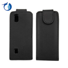 Vertical Flip Cover PU Leather Case For Nokia Asha 300