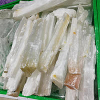 Wholesale White Rough Selenite Gypsum Crystal Clear Gypsum Satin Spar Crystal Minerals For Sale