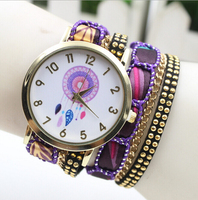 New fashion bracelet vintage lady watch ,women vogue watch china supplier