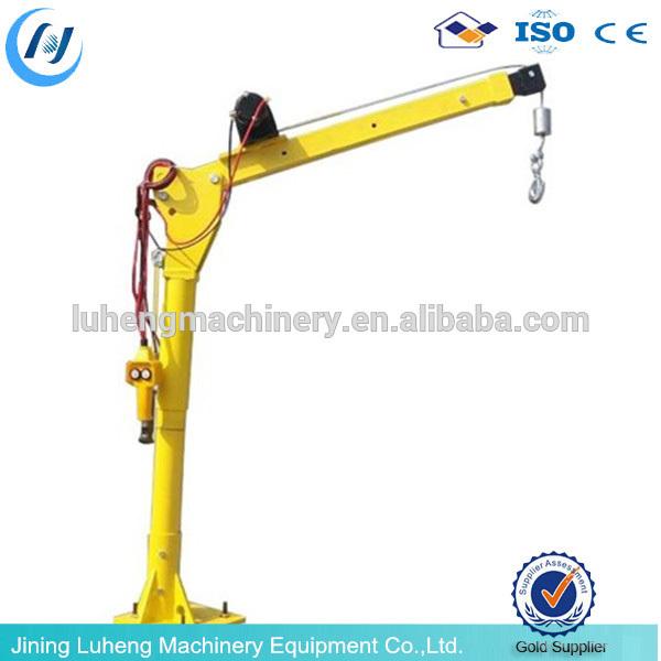 Portable Pneumatic Lift Arms : Kleine mini gebruikt draagbare hydraulische swing arm lift