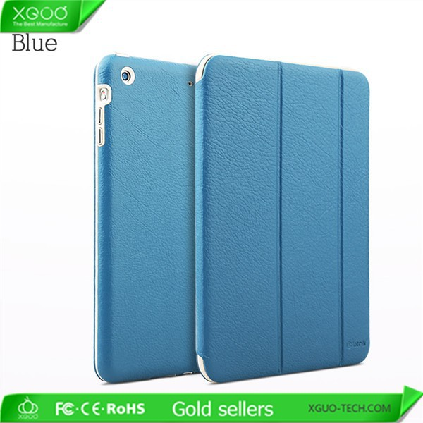 Handmade leather case for iPad Mini 3 leather case