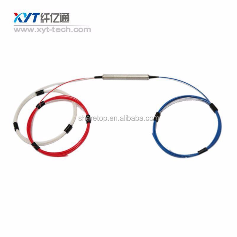 polarization insentive passive fiber optic circulator module C band L band