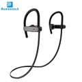 2017 Fashion Design Wholesale Ipx7 Waterproof smart bluetooth headphone with mic RU10