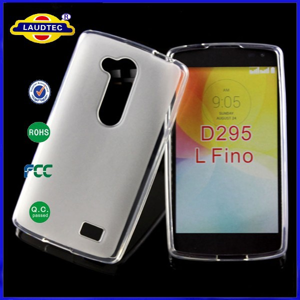 Mix Color for LG L Fino D295 TPU Gel Cover Glossy Bumper Pudding Case--Laudtec