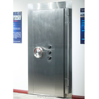 Specifically design high quality commercial double security stainless steel door