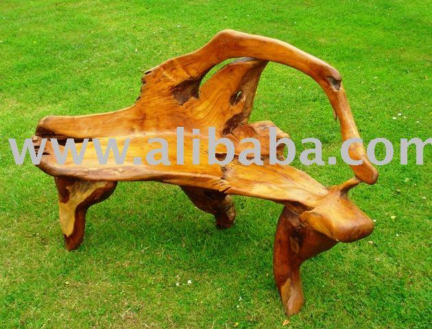 teakholz wurzel garten bank andere holzm bel produkt id 105271615. Black Bedroom Furniture Sets. Home Design Ideas