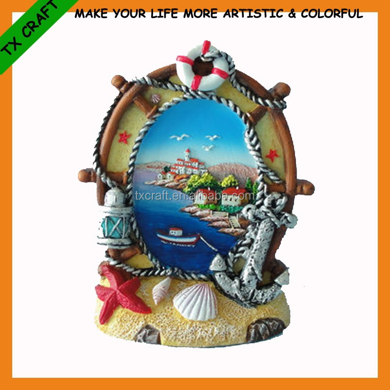TX-0026 resin helm crafts with sea views