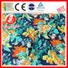 wholesale new design large flower print fabric factory