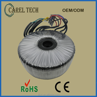 CE ROHS 220V 230V 120V Toroidal Transformer 12V 300VA 600VA, Toroidal Transformer Power Manufacturer China