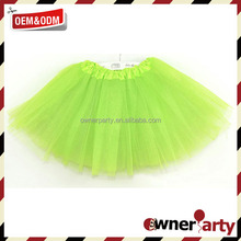 Hot Sale Clothing Cheap Green Tutus For Adults