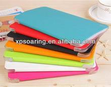 Triple folding leather case pouch for Samsung Galaxy Tab pro 8.4 T320