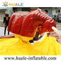 Outdoor Giant Inflatable Bull Machine, Action Game Inflatable Bouncer Floating Bullfight Machine