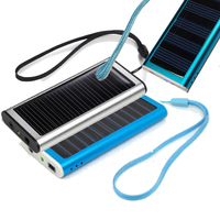 Mobile Portable Solar Power Bank Charging Station Dock External Battery 1350 mAh for iPhone 3G 3GS 4G 4S 5 5S 5C