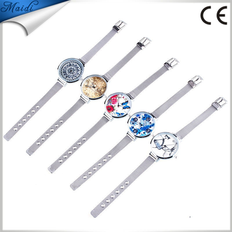 2018 Top Quality Quartz Movement Luxury Fashion Ladies Platinum Rhinestone Bracelet Geneva Dress Watches GW117