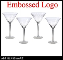 Cheap clear wine glass for wholesale