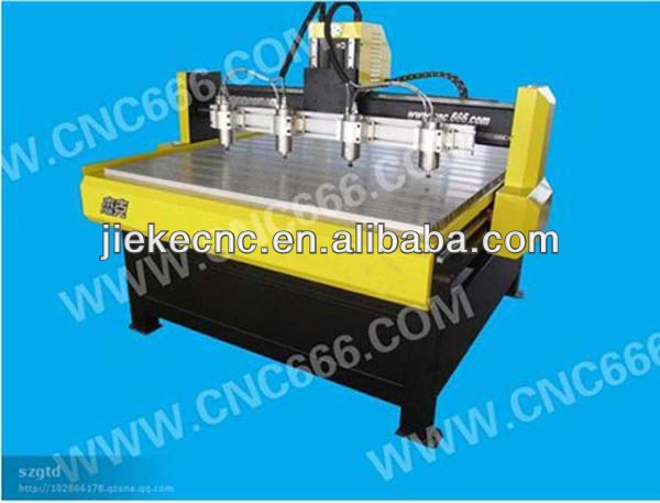 cnc stone router multi spindle engraver machine