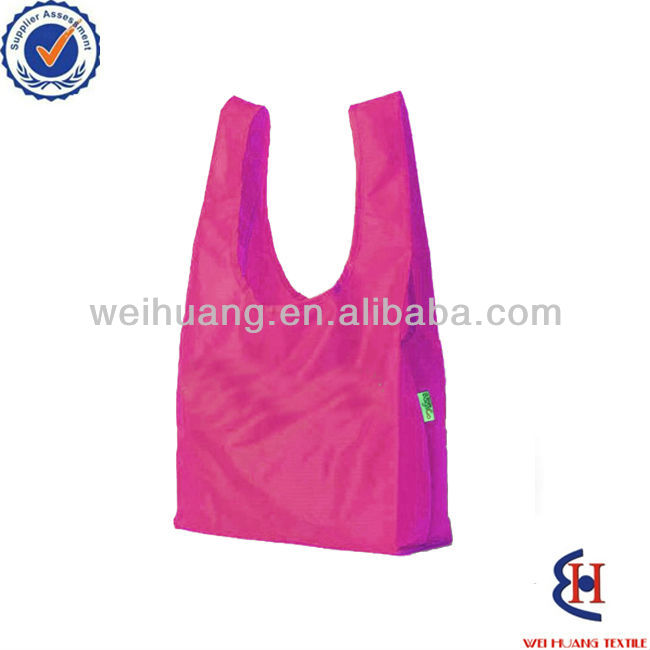 Foldable rpet shopping bag
