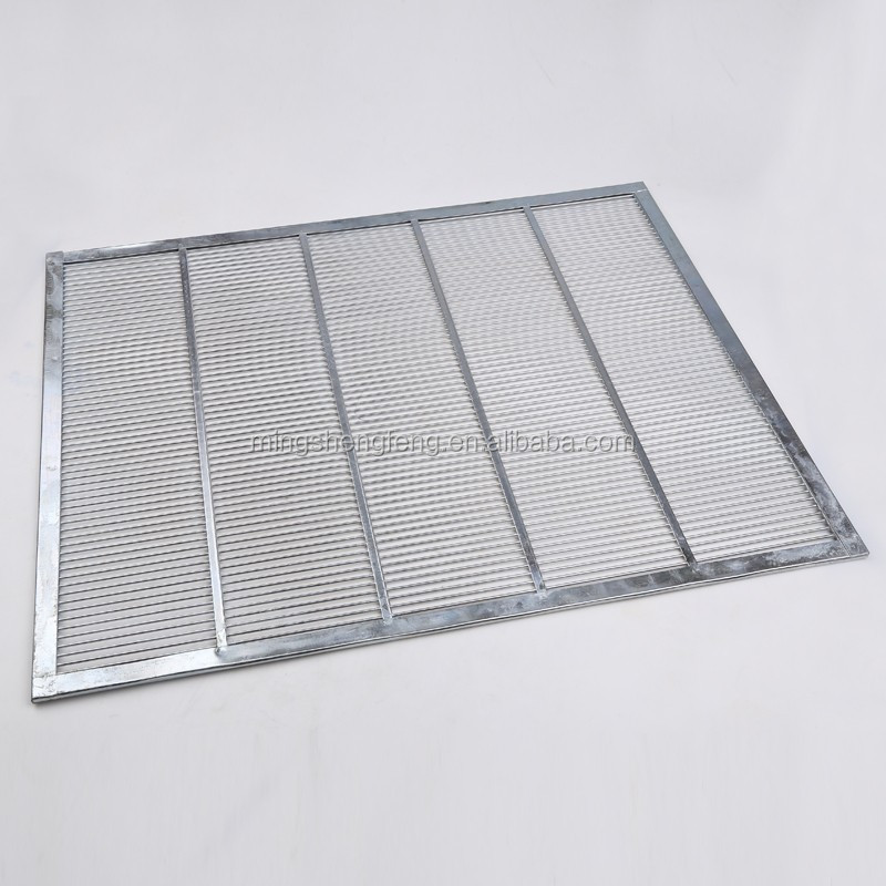 Durable Galvanized Iron Metal Bee Queen Excluder For beekeeper