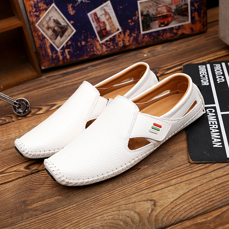 China wholesale flat chappal manufacturers casual PU sole sandals shoes men