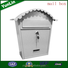 2015 hot sell OEM custom-made decorative american mailbox put newspaper advertising agency