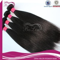 Hot sale silky straight 100% mongolian soft and free hair products