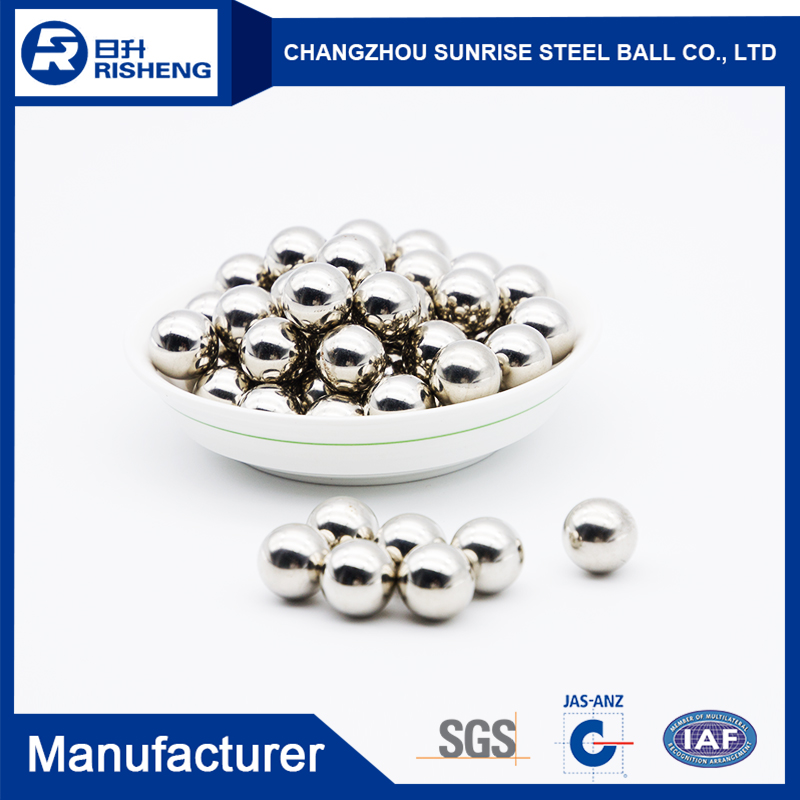New product 2017 7/16 stainless steel ball for bearing wholesale