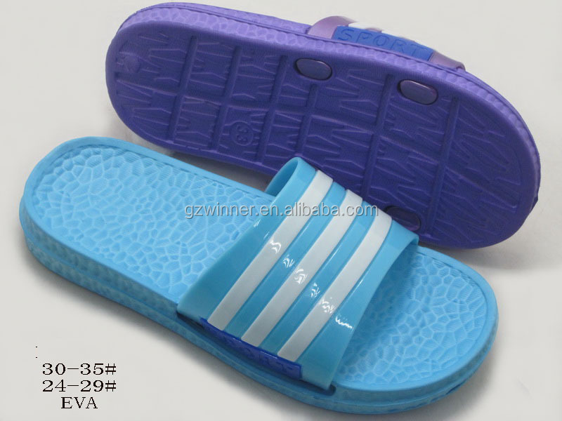 2016 Summer comfortable hollow out boys shoes quiet indoor plastic slipper w313