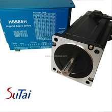 hybrid servo stepper motor nema 34 closed loop stepper motor 12N.m