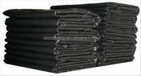 Disposable Feature and LDPE Material 240L strong trash bag,black