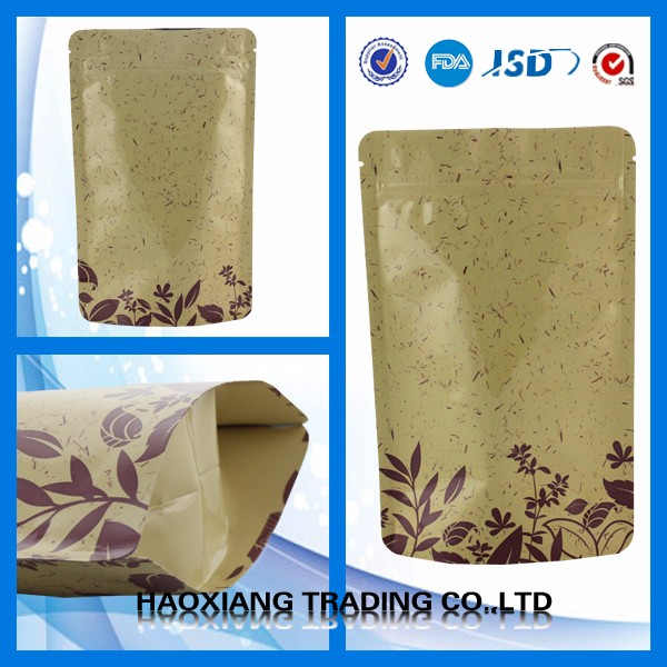 Factory wholesale Eco-friendly paper Material kraft paper bag for mango fruit