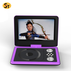 2018 hot style mini portable dvd player with mp3 mp4 radio usb sd