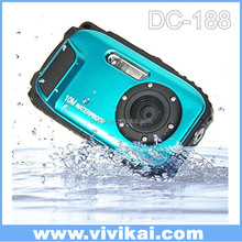Digital camera 10M underwater 8x digital zoom underwater camera