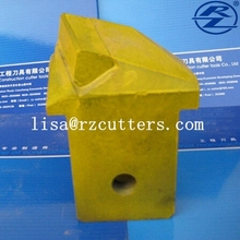 26/40 platy teeth for coring barrel tungsten carbide casing bits piling rig flat teeth