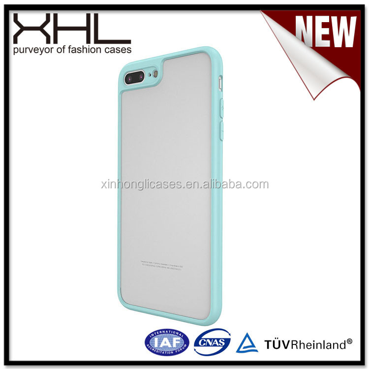 Light weight plastic cell phone case for Iphone7 plus 0.28 upgrade ultra-thin transparent