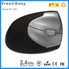 Hot sale good for health ergonomic vertical wireless mouse