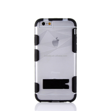 New Arrival Free Sample Dual Layer Defender Bumper Case PC Back Hard Case Cover for Iphone 6s Plus