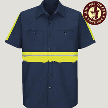 Led Reflective Safety Design Security Guard Suit Uniform Shirts