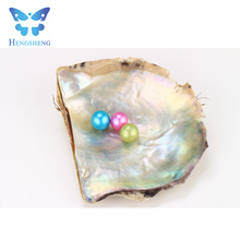 Hengsheng 2017 popular rainbow color culture fresh water loose seed pearl for making accessory