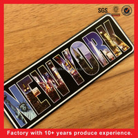 2015 hot sale New York souvenir printing fridge magnet for home decor