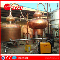 New design brandy alcohol pomace distillation euqioment with factory price