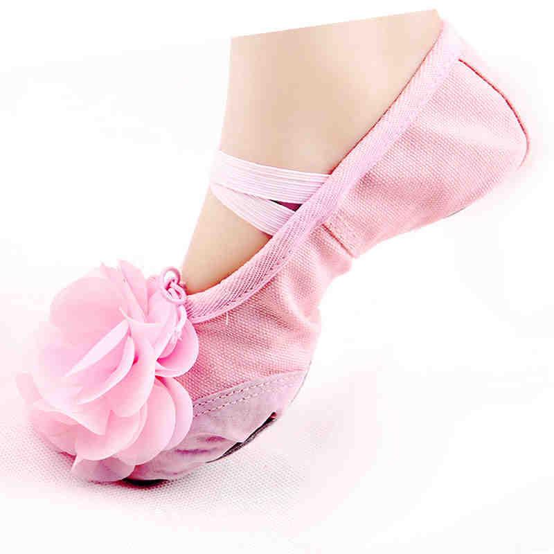 pink ballet heels