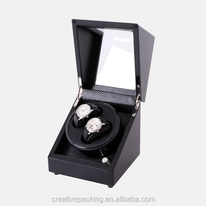 High quality 2+0 Classic Matte Automatic Wood Watch Winder Controller
