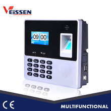 Factory with CE certificate color screen biometric time attendance system