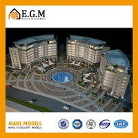 Ho Architectural Scale Model Train Miniature For 3D Real Estate