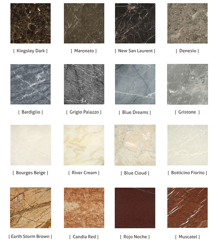 Customized Flooring Natural Stone Marble Tiles Price
