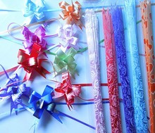 2015 Fancy Small Gift Wrap Pull Bows For Packing Decoration