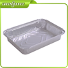Aluminum foil disposable catering container with lid