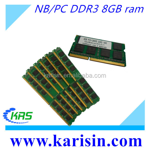 desktop/laptop ram ddr3 ram memory for servers 2gb 4gb 6gb 8gb 16gb