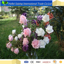 balls for wedding decoration silk flowers artificial rose