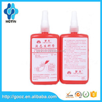 For gas,water ,air conditioning pipe liquid generic anaerobic thread locking adhesive